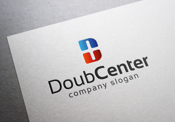 Double Center Logo
