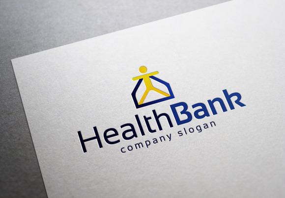 Health Bank Logo