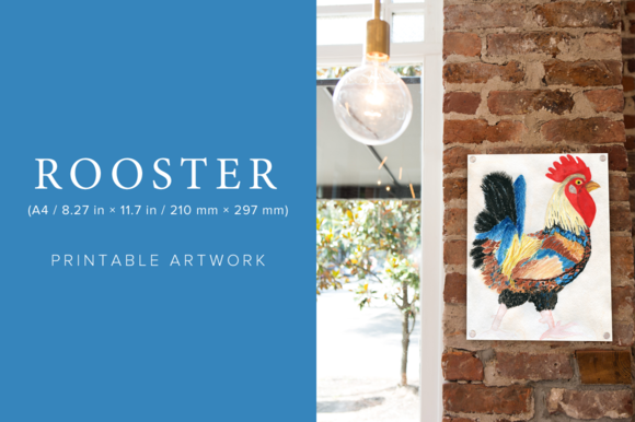 Rooster Printable Artwork