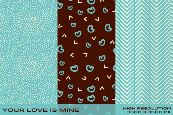 Your Love Is Mine Patterns