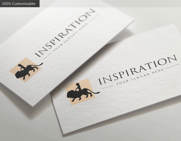 Child Lion Inspiration Logo