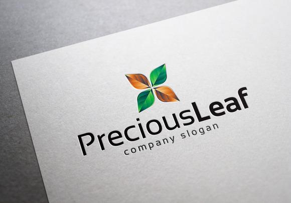 Precious Leaf Logo