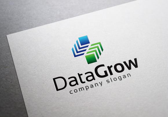 Data Grow Logo