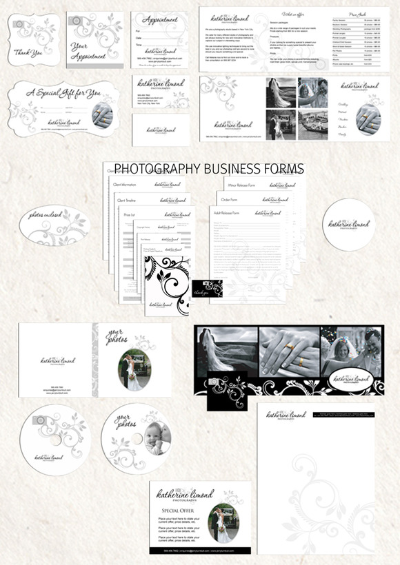 Photography Marketing Set Contract