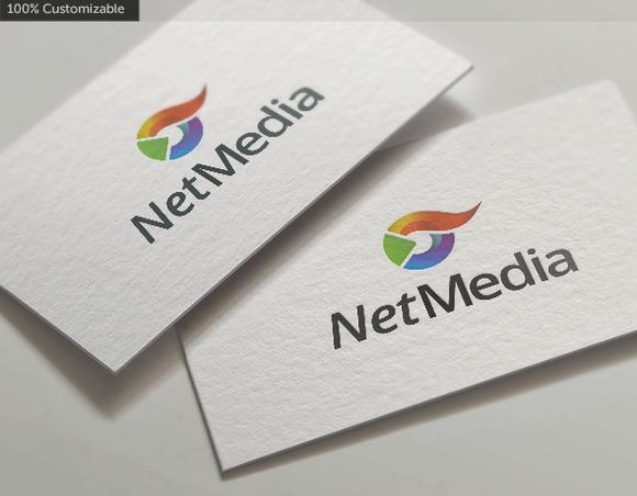 Net Media Logo Template