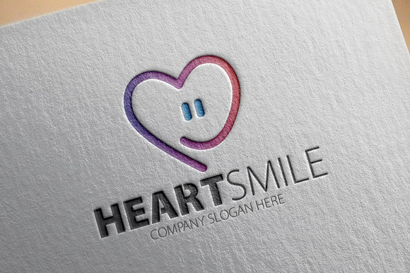 Heart Smile Logo