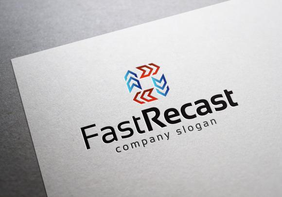 Fast Recast Logo