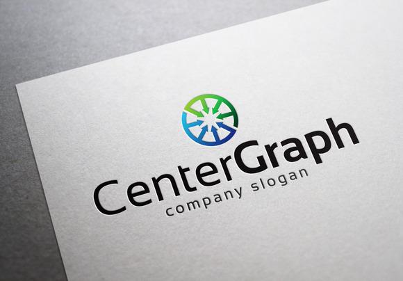 Center Graph Logo