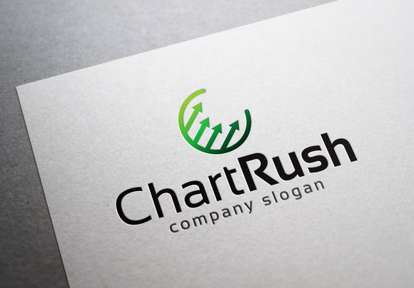 Chart Rush Logo