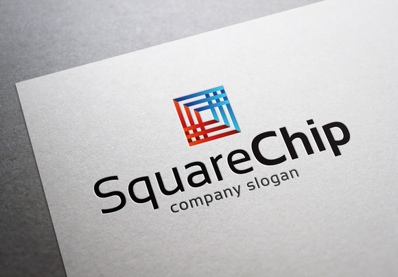Square Chip Logo