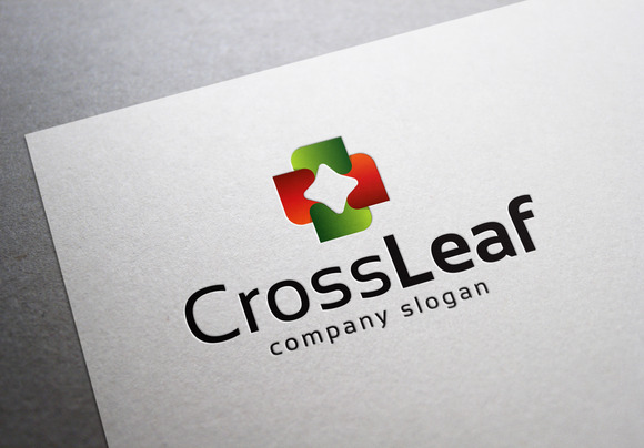 Cross Leaf Logo