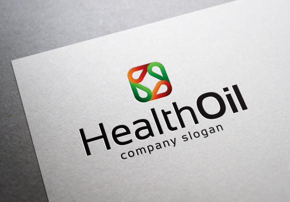 Health Oil Logo