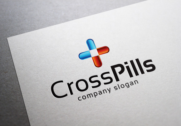 Cross Pills Logo