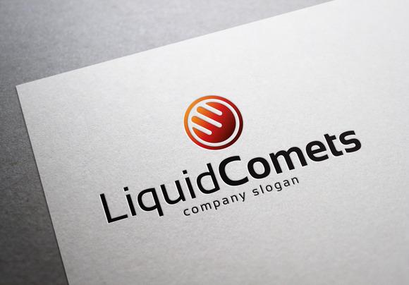 Liquid Comets Logo