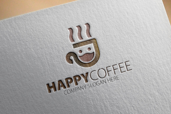Happy Coffee Logo