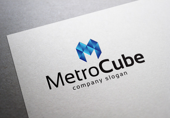 Metro Cube Logo