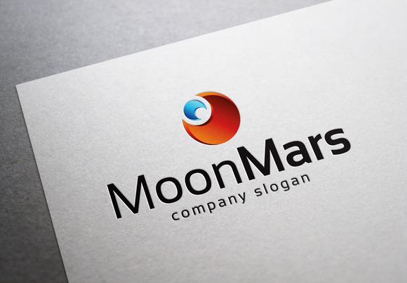 Moon Mars Logo
