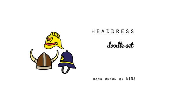 Headdress Doodle Set