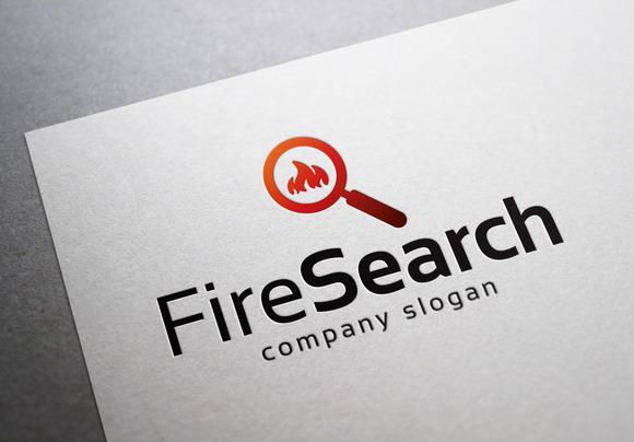 Fire Search Logo