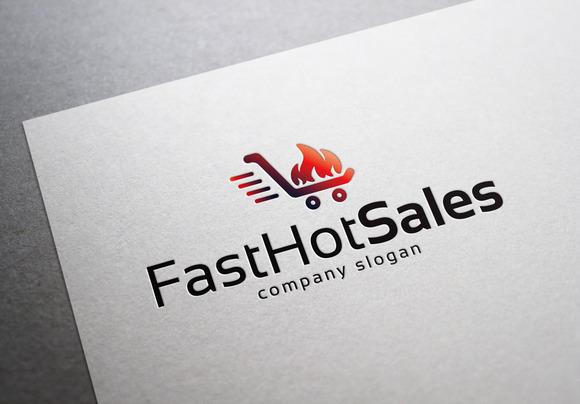 Hot Sales Fast Hot Sales Logo