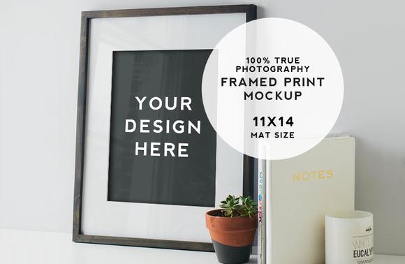 Artist Series Framed Print Mockup #5
