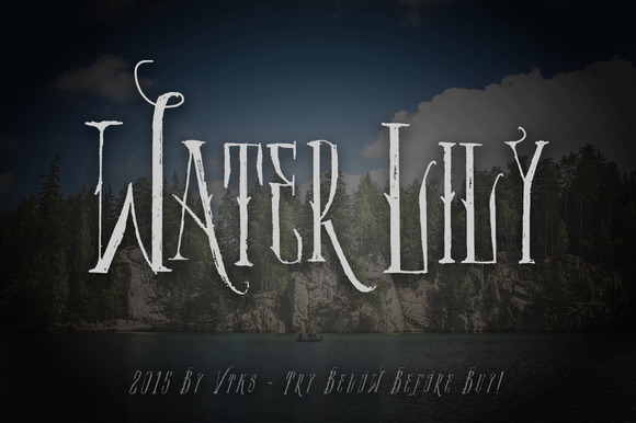 Water Lily Font