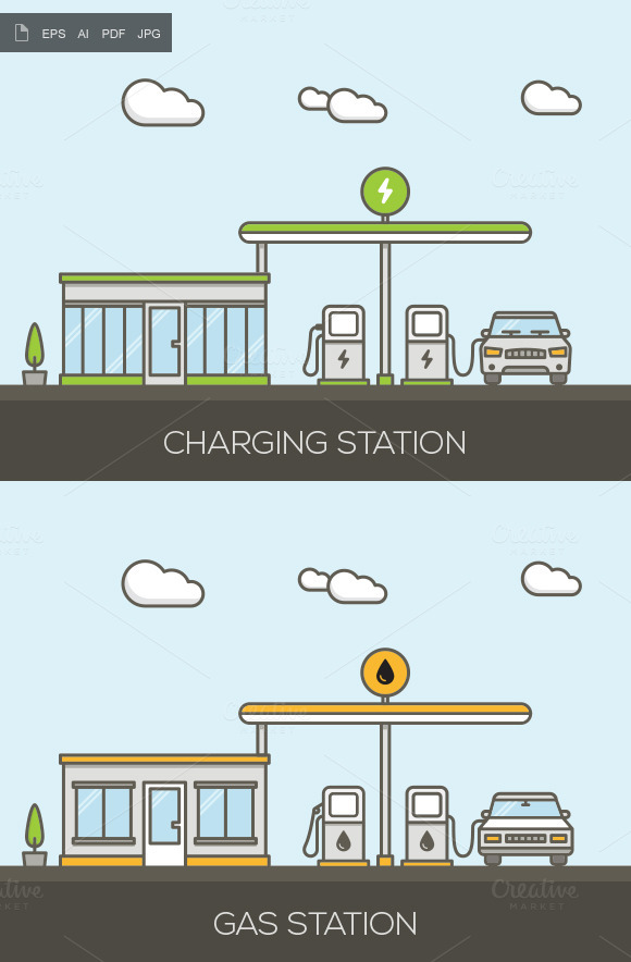 Vector Charging And Gas Stations