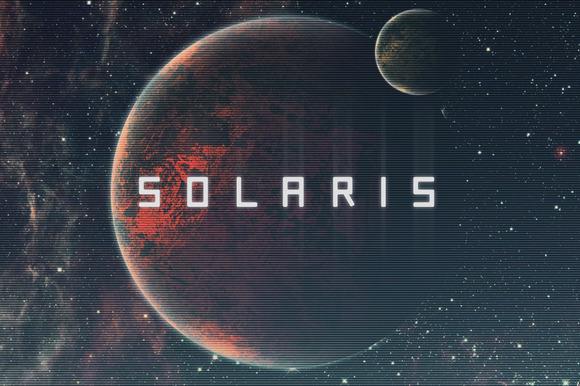 Solaris Futuristic Font