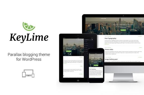 KeyLime WP Wordpress Blog Theme