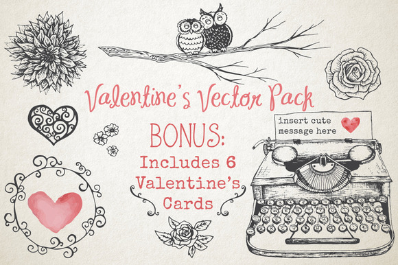Valentine S Vector Pack