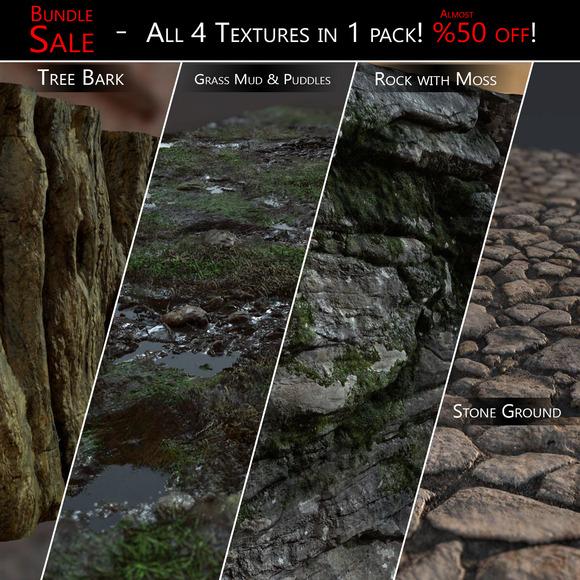 SALE 4 Textures In 1