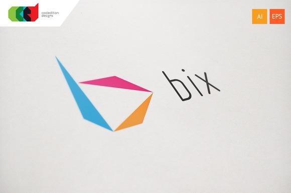 Bix Letter B Logo Template