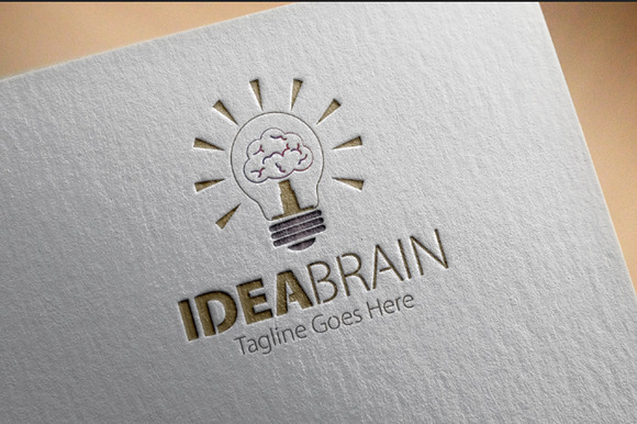 Idea Brain Logo