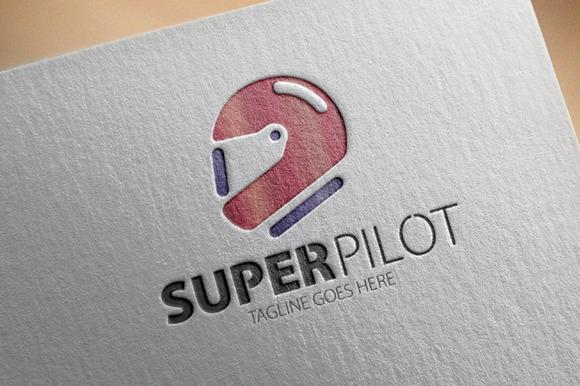 Super Pilot Logo