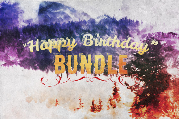 Happy Birthday Bundle