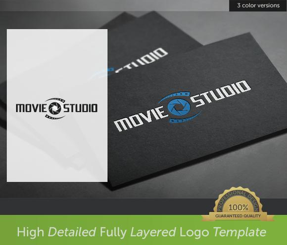 Movie Studio Logo Template