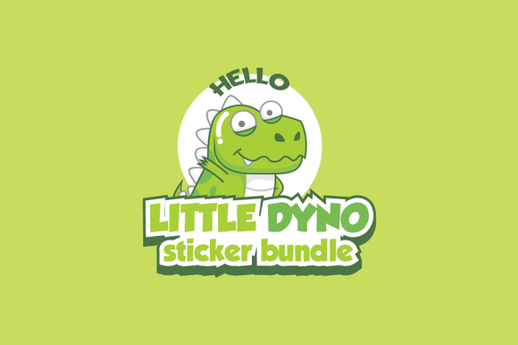 Little Dyno Stickers Bundle