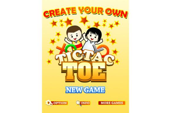 Tic Tac Toe Game Assets