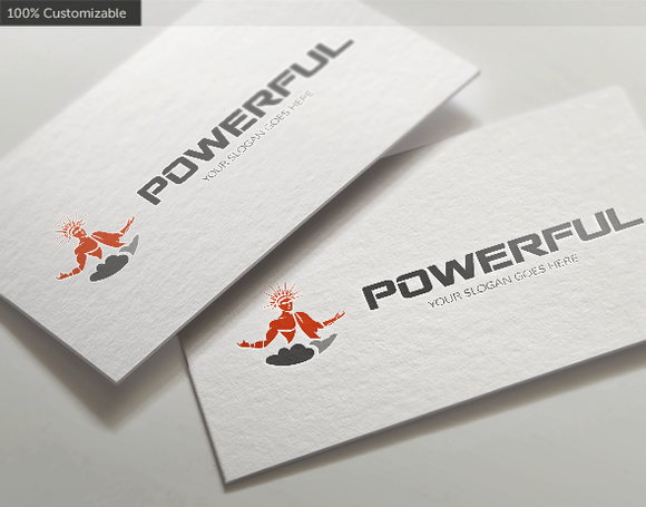 Powerful Energy Logo Template