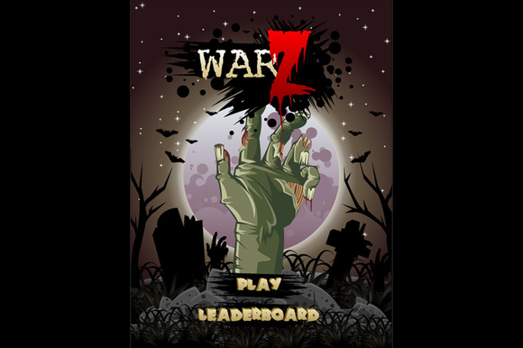 Zombie War Game Assets