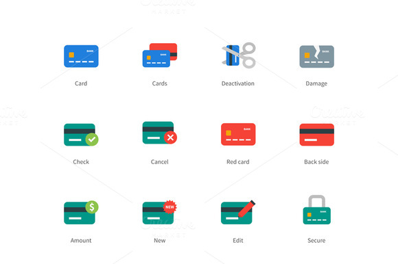 Credit And Payment Card Colored Icon