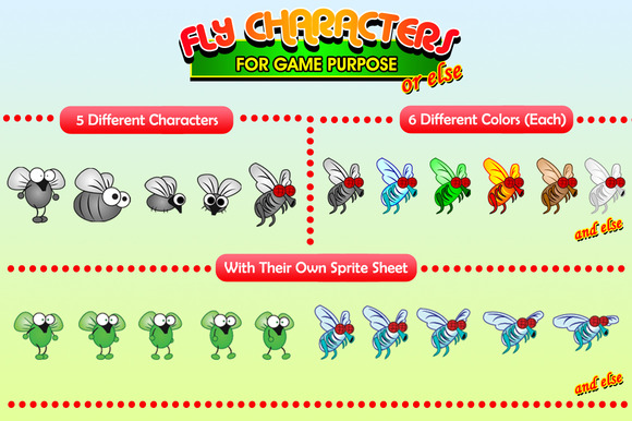 Fly Characters