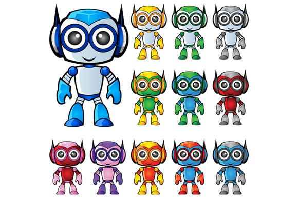 Robot Mascot 1