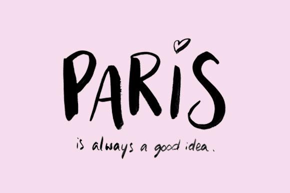 Paris Handlettering