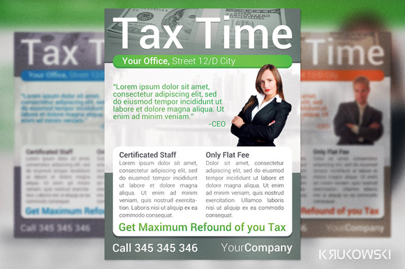 Tax Time Flyer