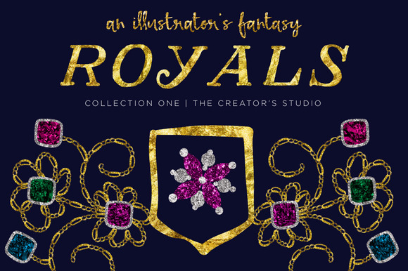 ROYALS #1 Illustrator S Studio Bonus