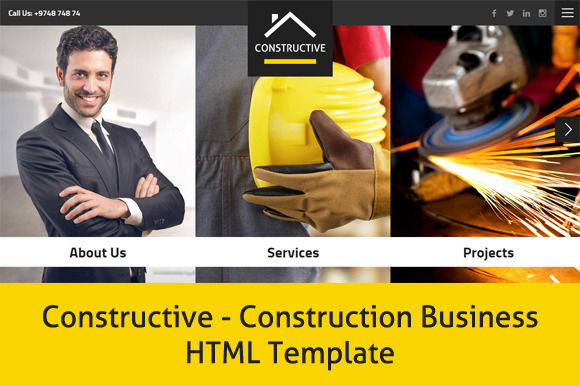 Constructive-Business HTML Template