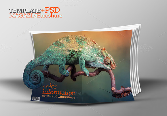 3D Template Catalog PSD