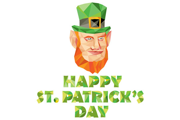 Leprechaun St Patrick S Day Low Poly