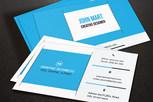 Creative Business Card V.13
